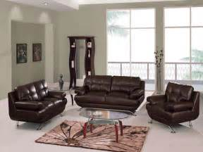 Brown Leather Decor by Decorating Living Room With Brown Leather Furniture