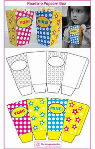 Popcorn Tüten Basteln : creative travel friendly activities and printables for kids f r kinder t te und schachteln ~ Orissabook.com Haus und Dekorationen