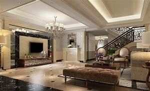 interior design stairs living room villa interior design With interior design for living room with stairs