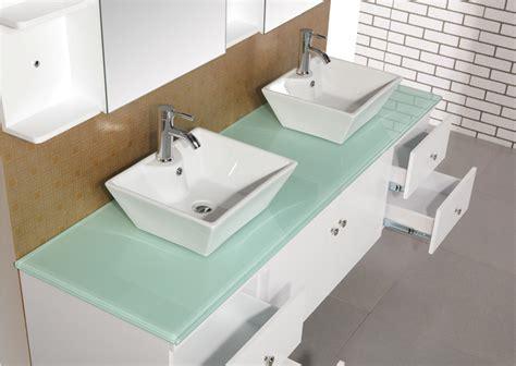 72 floating vanity adorna 72 inch sink bathroom vanity set in white finish