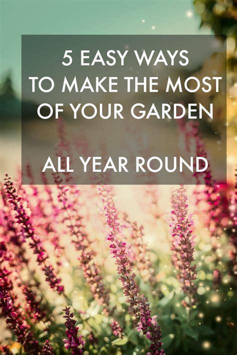 easy ways       garden  year