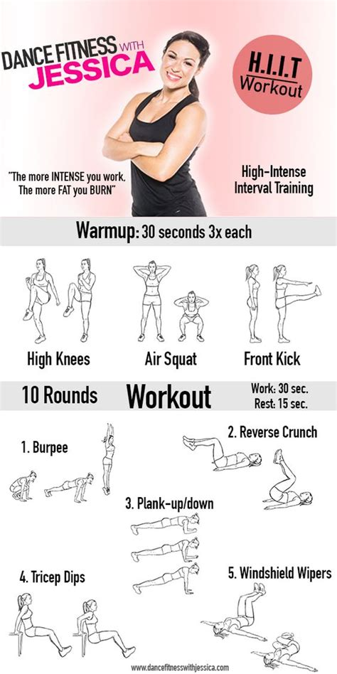fitness dance moves workout training routine interval hiit jessica workouts hitt exercises intense body minute cardio intensity muscle introduction webmd