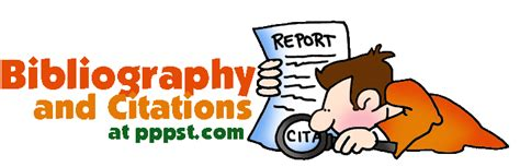 13828 works cited clipart free powerpoint presentations about bibliography