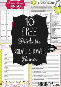 10 free printable bridal shower games With templates for bridal shower games