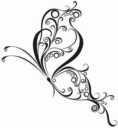 Tatuajes Plantillas Mariposas Tribales
