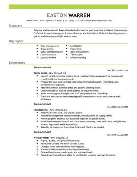 find c dining room attendant resume sles