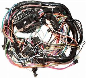 1974 Corvette Wiring Harness  Main Dash  Without Factory
