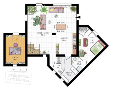 logiciel agencement cuisine idee plan maison unique plan maison chambres unique with idee plan maison cool dcouvrez