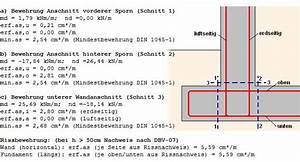 Stahlbeton Bewehrung Berechnen : winkelst tzwand ~ Themetempest.com Abrechnung