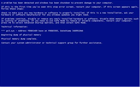 How To Create Fake Blue Screen Of Death In Your Window