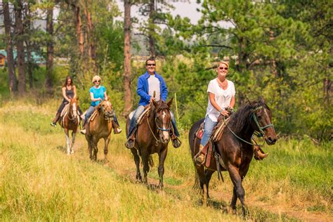 riding horseback trail ride dakota hills south rushmore keystone 1230 sept