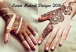 Latest Mehndi Designs 2016 Archives - Dresses Khazana
