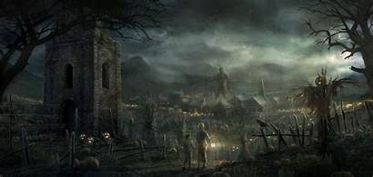 Town Rado Javor Darkness Edge Halloween Guardian