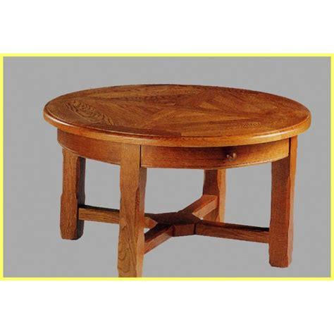 table de salon cagnarde ronde meubles de normandie