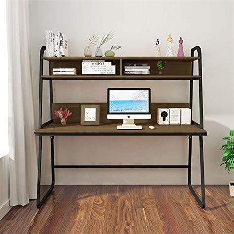 30635 teak home office furniture modernday triblesigns computer desk with hutch modern metal frame