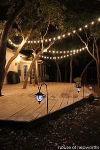 15 diy backyard and patio lighting projects amazing diy With installing outdoor rope lighting