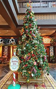 disney world resort christmas decorations