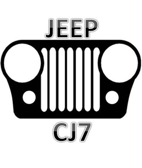 jeep front logo cj7 grille jeep pinterest jeeps