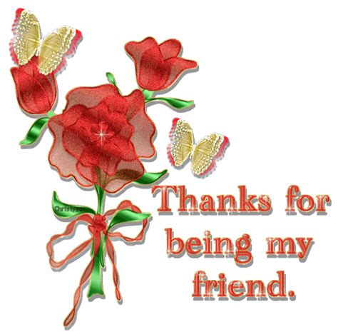 Thanks For Being My Friend! Pictures, Photos, And Images For Facebook, Tumblr, Pinterest, And