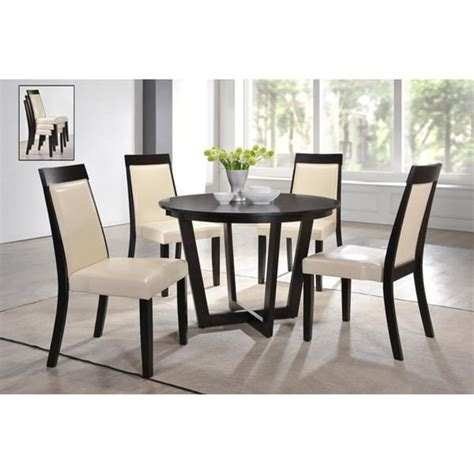 Shop for dining table 6 chairs online at target. Shop Indoor Black and White Modern 5pc Dining Set with a ...