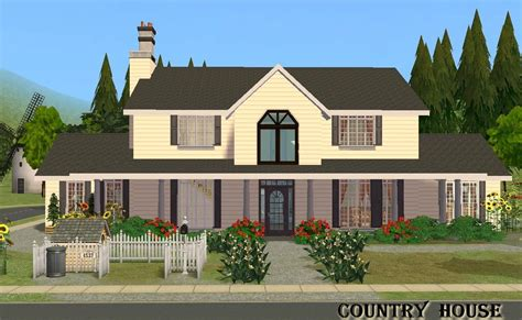 house floor plans with photos mod the sims country house