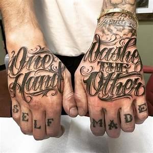 Hand Tattoos Schrift : hand tattoo schrift qd44 startupjobsfa ~ Frokenaadalensverden.com Haus und Dekorationen