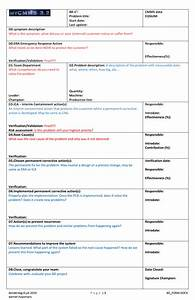 8d report format template 28 images 8d corrective form With 8d form template