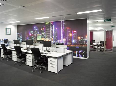 Digital Office Wallpaper by Cook Hq Relocation And Refurbishment Space Pod