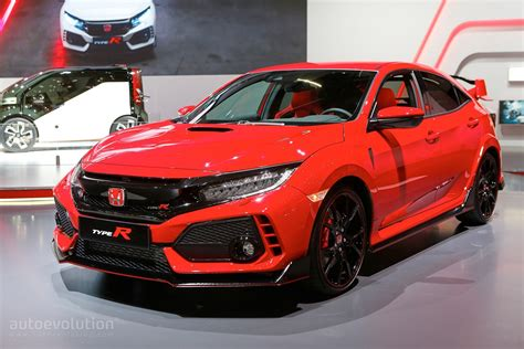 Honda Civic Type R Picture by Honda To Debut U S Spec Fk8 Civic Type R At 2017 New York