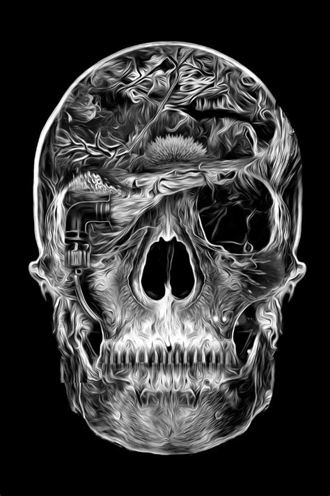 Best Images About Skulls Other Creepy Shit