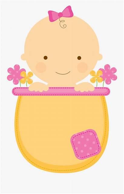 Clip Clipart Shower Neutral Gender Babies Flowerpot
