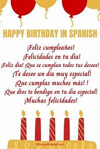 Happy Birthday Songs In Spanish  U0026 Different Ways To Say