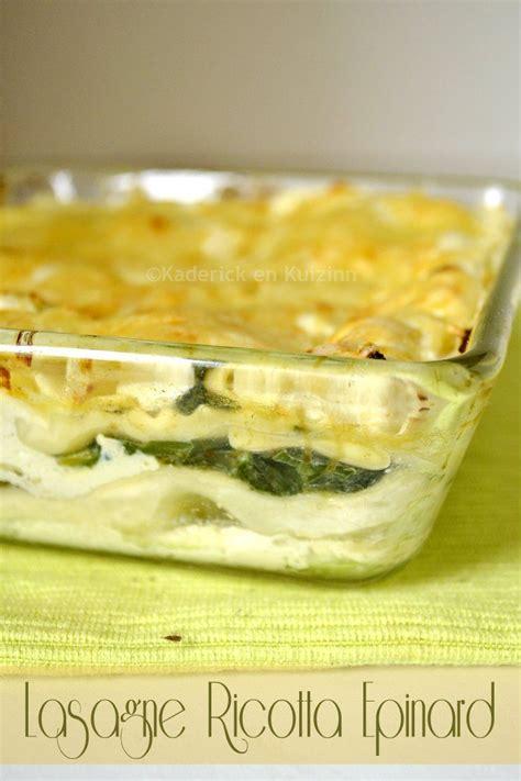 cuisine lasagne facile recette facile lasagne ricotta epinard cuisine lasagne et ricotta