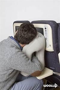 Coussin Pour Dormir : woollip ce coussin gonflable pour dormir tranquillement dans l 39 avion geekirc me geekirc me ~ Melissatoandfro.com Idées de Décoration