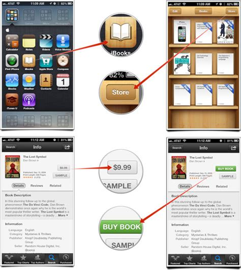 how to get free books on iphone or ipod touch