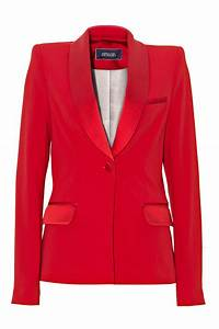 veste de smoking rouge bande satin femme 2015 renoma 58