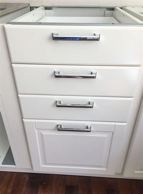 ikea cabinet pulls white ikea modern farmhouse style kitchen