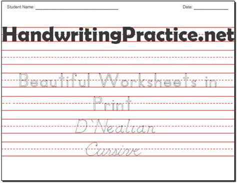handwriting practice worksheets images frompo