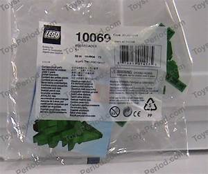 Lego 10069 Christmas Tree Set Parts Inventory And