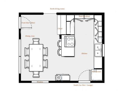 kitchen floorplans kitchen floor plans brilliant kitchen floor plans with