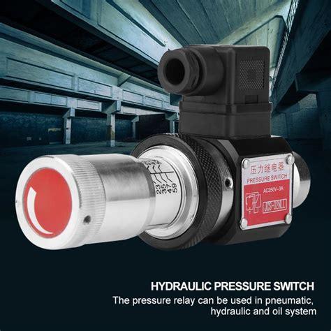 Pressure Relay Straight Through Tube Hydraulic Oil