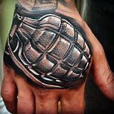 Skeleton Hand Grenade Tattoo | 480 x 480 jpeg 144kB