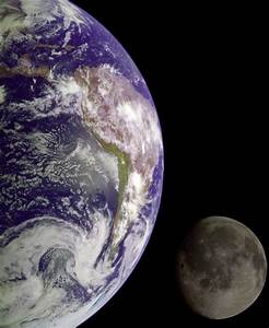 Nasa Earth and Moon