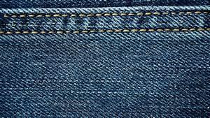 Closeup detail of blue denim jeans texture background. Rack focus 4K ProRes HQ codec Stock ...
