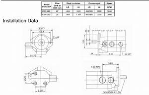 Hydraulic Gear Pump Schematic