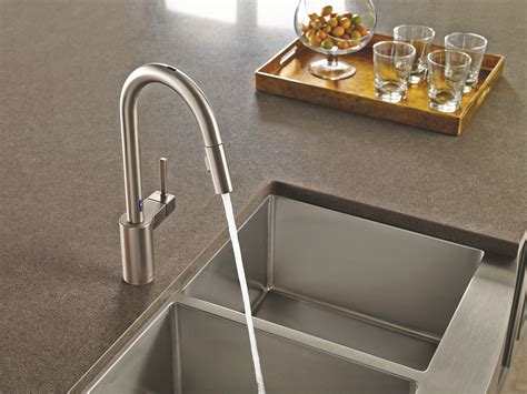 moen motionsense faucet why touch your kitchen faucet when you don t to moen