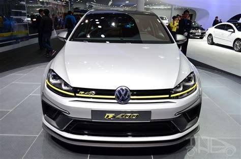 Volkswagen Golf R 400 Concept Front Indian Autos Blog