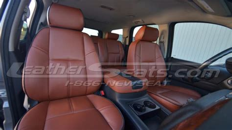 buy   chevy tahoe leather seat covers custom