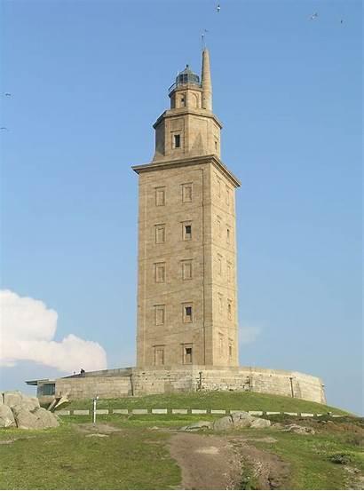 Hercules Wikipedia Tower Torre Coruna Sunset