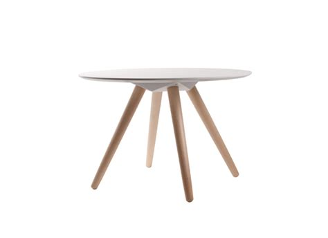 table basse ronde pied en bois beta achatdesign